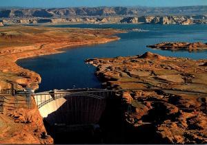 Arizona Page Glen Canyon Dam & Lake Powell