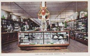 BUSHKILL , Pennsylvania, 1900-10s ; Turn & Cook Store , Interior