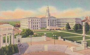 City and County Building, Civic Center, Denver, Colorado, 30-40s