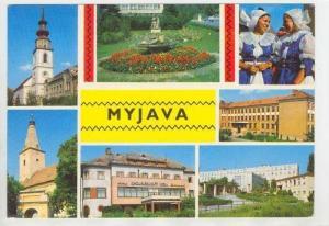 Myjava  , Tren&#269 ín Region, Slovakia, 50-60s