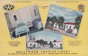 Louisiana New Orleans Hollywood Tourist Court