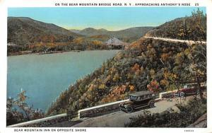 Bear Mountain Bridge Road Storm King, New York Postcard
