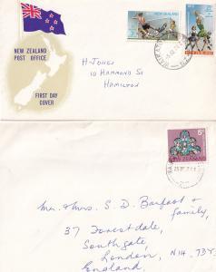 Waikato Hospital New Zealand First Day Cover Xmas Day Postmark