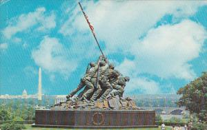 Iwo Jima Monument Arlington Virginia 1966