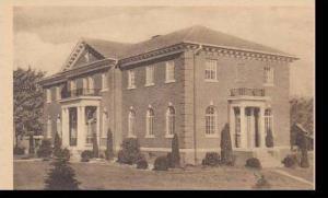 South Carolina Due West McQuiston Divinity Hall Erskine College Albertype