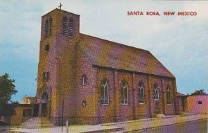 New Mexico Santa Rosa St Rose Of Lima Church
