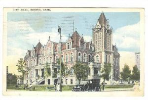 City Hall, Regina, Saskatchewan, Canada, PU-1921