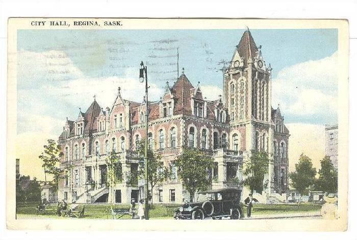 City Hall, Regina, Saskatchewan, Canada, PU-1921