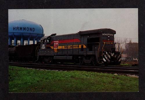 IN Louisville & Nashville RR Train S HAMMOND INDIANA PC