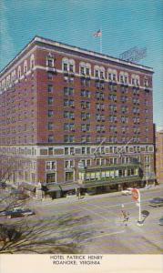 Virginia Roanoke Hotel Patrick Henry