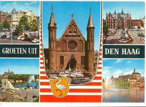 Netherlands, Groeten uit Den Haag, 1971 used Postcard