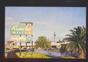 NEEDLES CALIFORNIA ROUTE 66 EL RANCHO MOTOR HOTEL