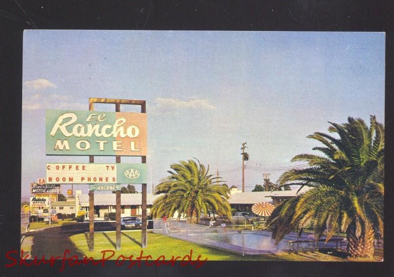 NEEDLES CALIFORNIA ROUTE 66 EL RANCHO MOTOR HOTEL