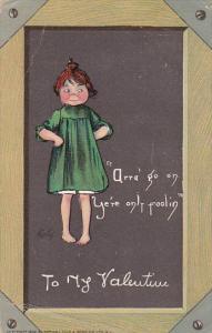 Curtis To My Valentine 1908