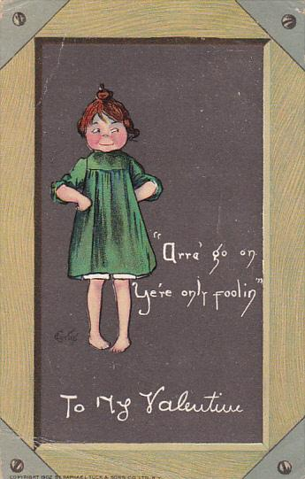 Curtis To My Valentine 1908