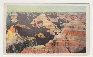 P2186 vintage postcard view from mohave point grand canyon arizona