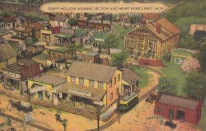 Sleepy Hollow Business Section and Henry Ford's First Shop, ROADSIDE AMERICA
