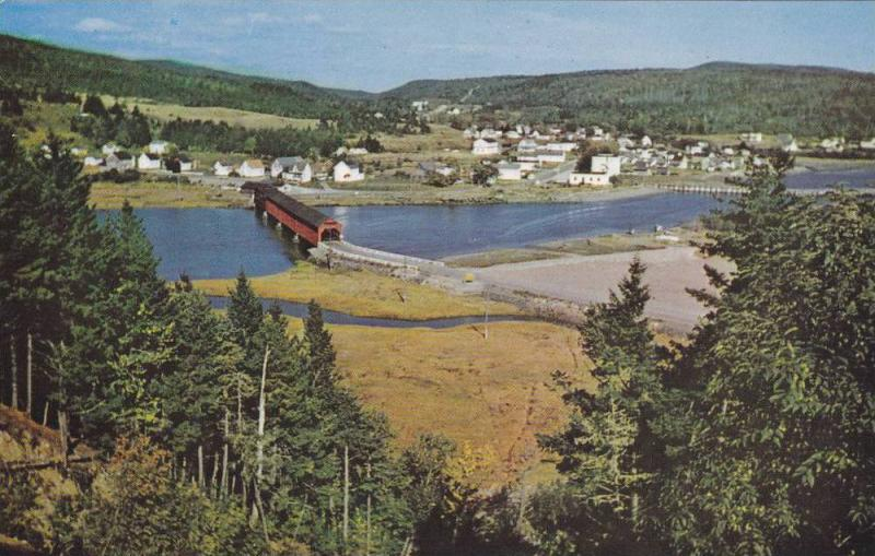 Fundy National Park,  Alma,  New Brunswick,  Canada, 40-60s