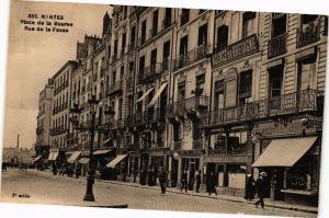 CPA NANTES - Place de la Bource - Rue de la Fosse (222455)