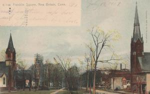 Franklin Square at New Britain CT, Connecticut - pm 1907 - UDB