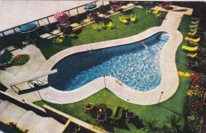 LA JOLLA, California, 1950-1960's; La Valencia Hotel , Swimming pool
