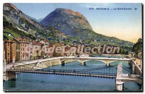 Old Postcard Grenoble Saint Eynard