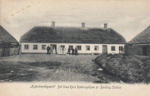 Kjaershovedgaard Det blaa Kors Redningshjem pr. Bording Station, Denmark, 1906