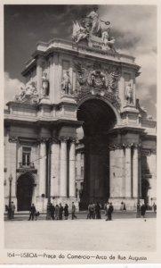 RP: LISBOA , Portugal , 1920-30s ; Praca do Comercio