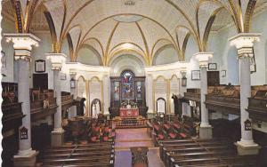 Cathedral of the Holy Trinity, Choir and Sanctuary, Quebec, Province of Quebe...