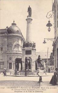 Fontaine Des Elephants,Elevee A La Memoire De General Comte De Boigne Bienfai...