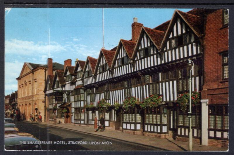 The Shakespeare Hotel,Stratford-Upon-Avon,England,UK BIN