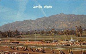 Santa Anita Park Arcadia, CA USA Horse Racing Unused