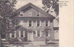 Delaware New Castle Amstel House Built 1730 Albertype