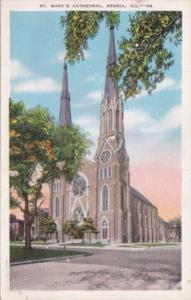 Illinois Peoria St Mary's Cathedral