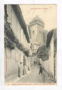Une Rue De La Ville Et Clocher, Saint-Bertrand-de-Comminges, France, 1900-1910s