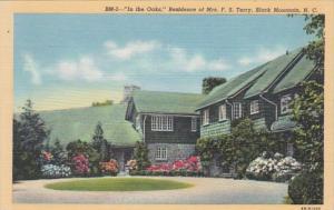 North Carolina Black Mountain In The Oaks Residence Of Mrs F S Te...