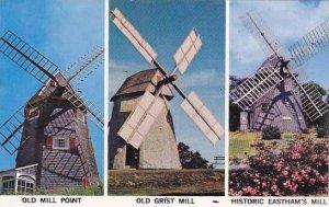 Massachusetts Cape Cod Windmills Multi View