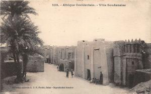 br104340 afrique occidentale ville soudanaise  africa real photo sudan soudan