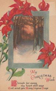 CHRISTMAS Winter Scene #2 , 1900-10s ; Clapsaddle