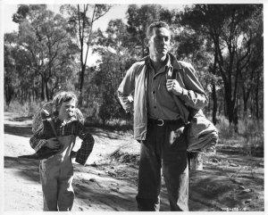 Dana Wilson Australian Child Star & Peter Finch The Shiralee Gala Film Rare P...