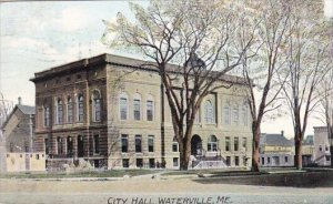 City Hall Waterville Maine 1908