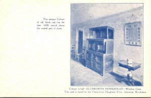 Connecticut Windsor Cabinet In Hall Of Ellsworth Homestead