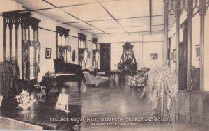 NAZARETH , Kentucky, 1944 ; College Social Hall