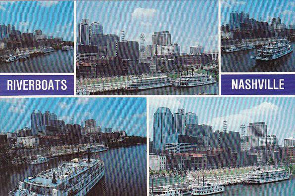 Steamers Riverboats Nashville Riverfront Tennessee