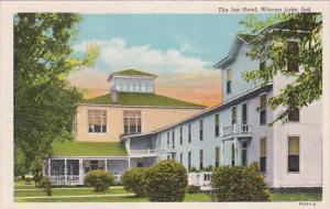 Indiana Winona Lake The Inn Hotel Curteich