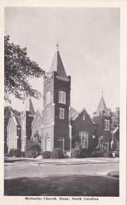 Methodist Church , DUNN , North Carolina , 30-40s