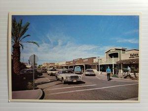Vintage Postcard Scottsdale Arizona Old West 1985 classic cars automobile unpost