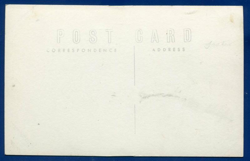 St Lawrence Catholic Church South Dakota sd old real photo postcard RPPC