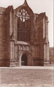 England Wharfdale Bolton's Abbey West Front Real Photo