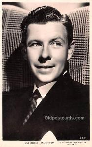 George Murphy Movie Star Actor Actress Film Star Postcard, Old Vintage Antiqu...